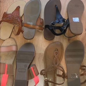 4 sandals for the price of 1